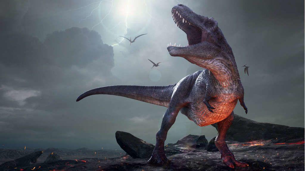 هذا ما قد يبدو عليه الحمض النوويّ للديناصور