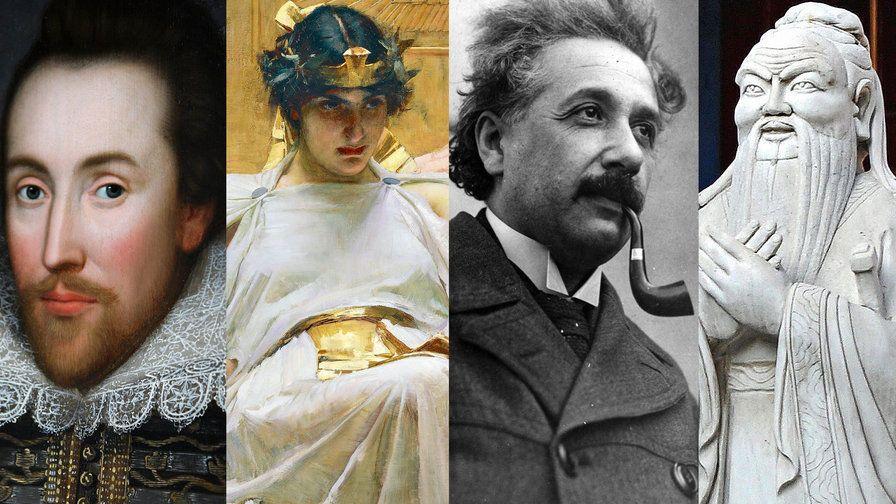 24 من اذكى الشخصيات في التاريخ البشري