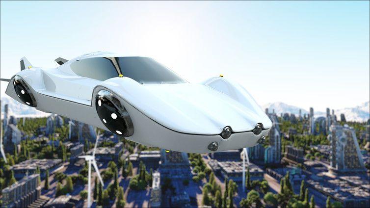 نتيجة بحث الصور عن السيارات الطائرات لا مستقبل لها،