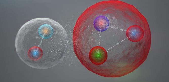 النموذج المعياري لفيزياء الجسيمات نظرية النموذج المعياري الكواركات البروتونات الإلكترونات النيوترونت الجسيمات الأولية البوزيترونات