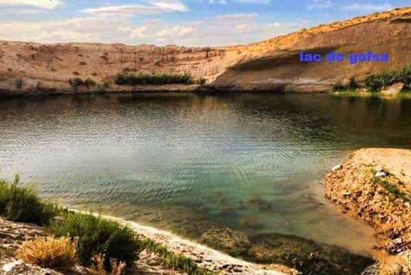 ظهور بحيرة بشكل غامض في صحراء تونس!