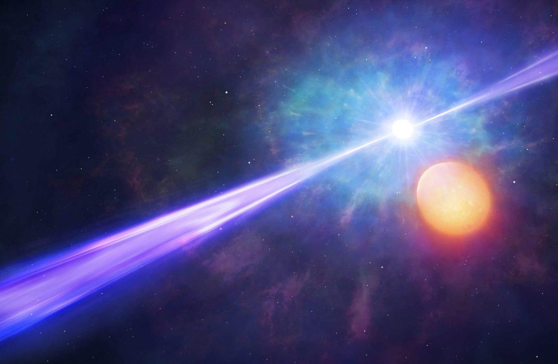 ما هو انفجار أشعة غاما ؟