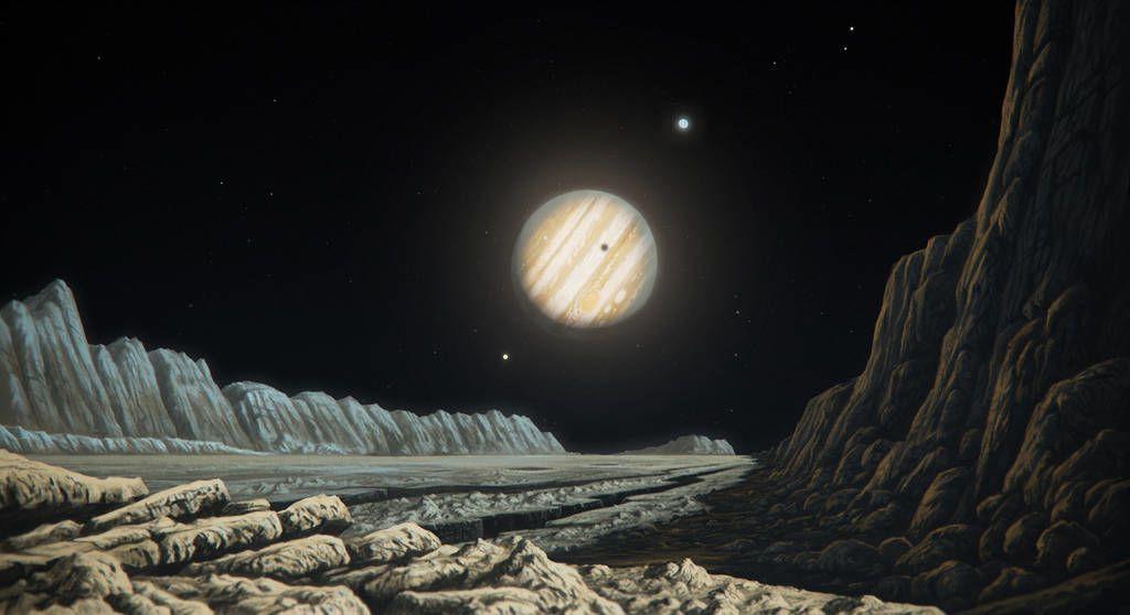 حقائق مدهشة عن قمر المشتري غانيميد