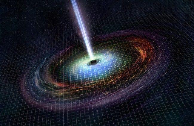 رصد تصادم ثقب أسود ونجم نيوتروني