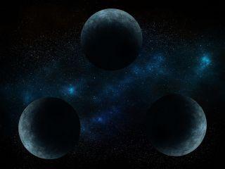 ربما توصل العلماء إلى إجابة السؤال الأقدم في تاريخ الفيزياء الفلكية - مسألة الأجسام الثلاثة لنيوتن The three-body problem