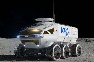 سيتمكن رواد الفضاء من التحرك على سطح القمر عبر جوال من إنتاج شركة (تويوتا) اليابانية بعد قرابة عقد من الآن وكالة الفضاء اليابانية