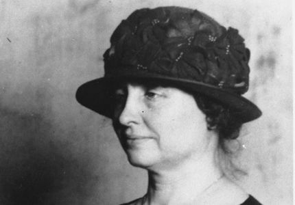 الكاتبة الأسطورية هيلين كيلر