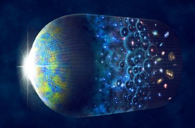 قد يكون الكون مجرد حلقة ضخمة - الخلفية الكونية الميكروية CMB - آثار الانفجار العظيم - فكرة الكون المنغلق - نظرية الفضاء المسطح