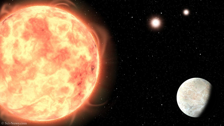 اكتشاف كوكب غريب خارج المجموعة الشمسية لديه 3 شموس حمراء!
