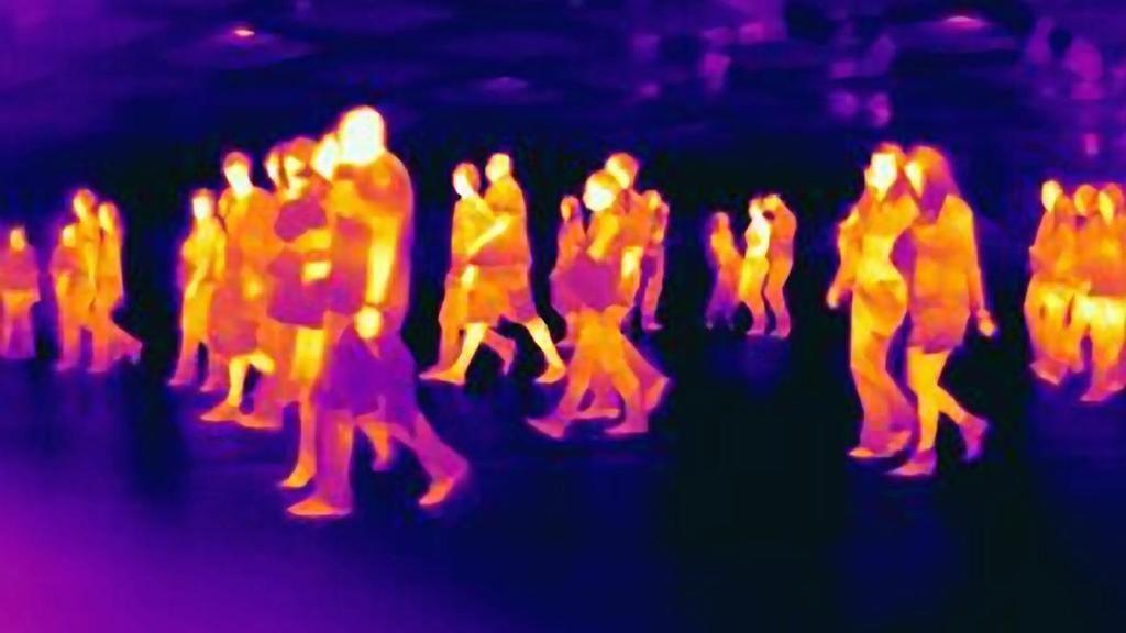 مواد جديدة تحوّل الأشعة تحت الحمراء إلى ضوء مرئي