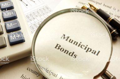 السندات البلدية - صكوك دين تصدرها سلطات الولايات أو السلطات البلدية بغرض تمويل مشروعات رأسمالية - قروض تحصل عليها السلطات المحلية أو البلدية من المستثمرين
