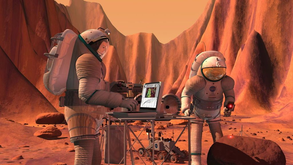 هل يمكن استصلاح المريخ والعيش فيه ؟