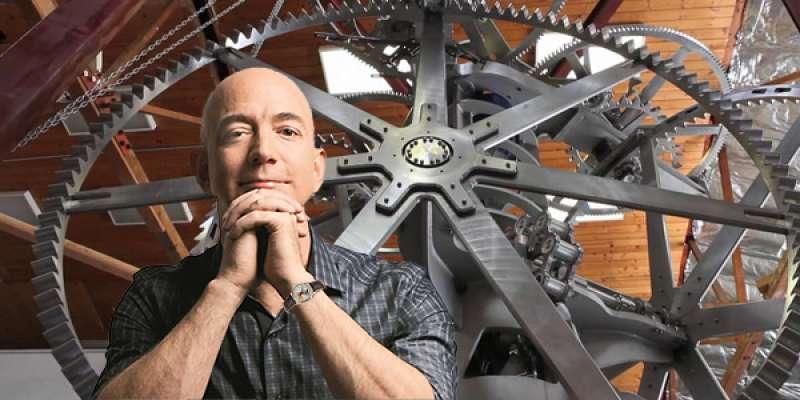 لماذا صمّم جيف بيزوس ساعة ميكانيكيّة عملاقة لتدوم عشرة آلاف عام؟