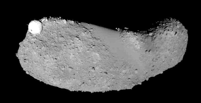 ايتوكاوا - اكتشاف الماء في عينات من الكويكب ايتوكاوا