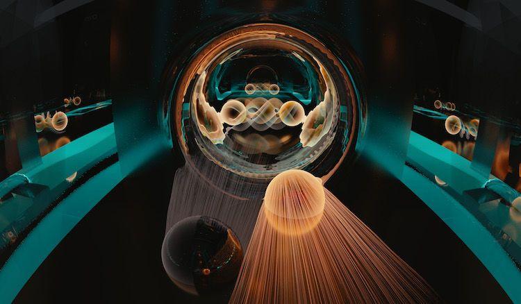 ما هي ظاهرة النفق الكمومي اختراقق الإلكترون للحاجز والانتقال إلى الجانب الآخر النفق الكمي مبدأ عدم اليقين لهايزنبرغ موضع وسرعة الإلكترون بدقة