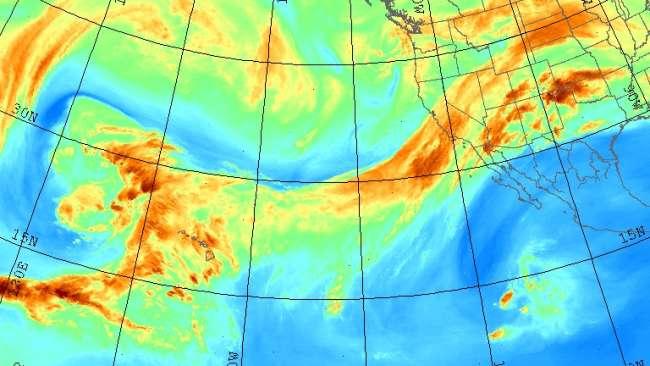 انهار السماء و اثارها في تهديد بعض الانواع الحية بالانقراض !