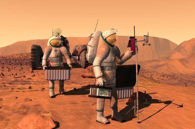 العيش على المريخ ، حقيقة أم خيال الكوكب الأحمر البشر الحياة على النريخ سطح الكوكب الغلاف الجوي الماء البقاء على قيد الحياة