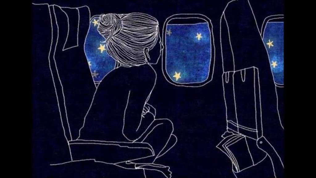 لماذا لا يمكننا رؤية النجوم من نافذة الطائرة؟