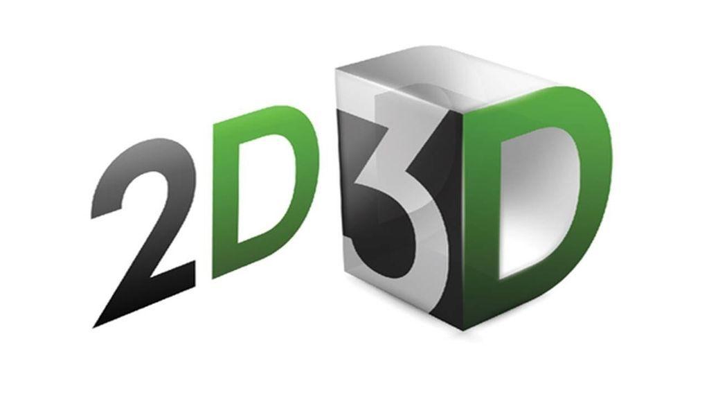 الفرق بين ثنائي البعد 2D وثلاثي البعد 3D