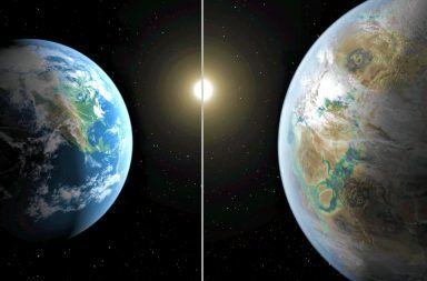 اكتشاف أشبه كوكبين بالأرض على مسافة 12.5 سنة ضوئية اكتشاف كواكب جديدة مشابهة للأرض الأنظمة النجمية النجم تيجاردن حياة خارج الأرض