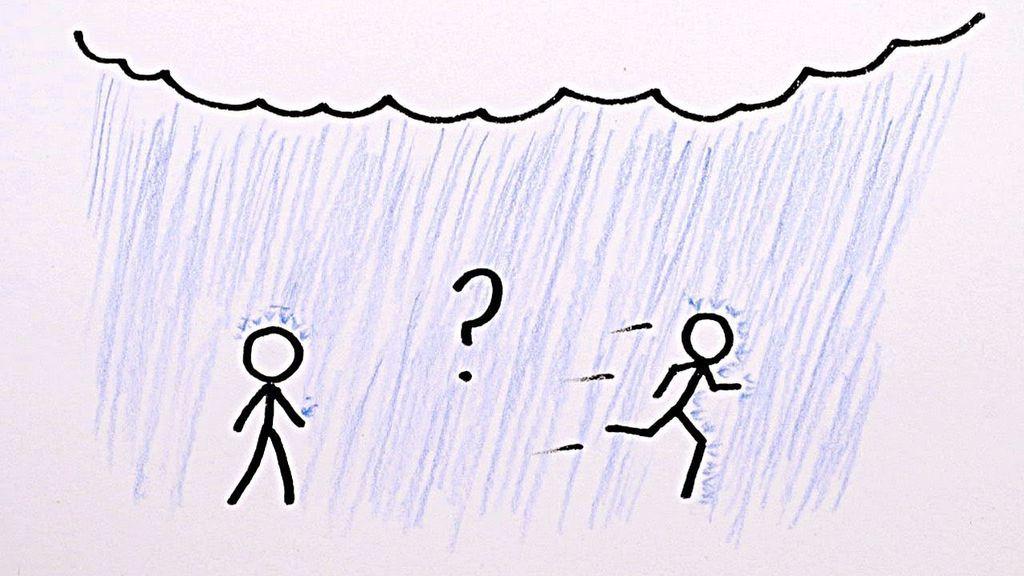 ماذا لو أمطرت، أعليك الهروب من المطر ركضًا أم مشيًا؟