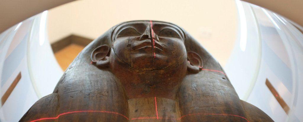 لغز تابوت فرعوني عمره 2500 عام