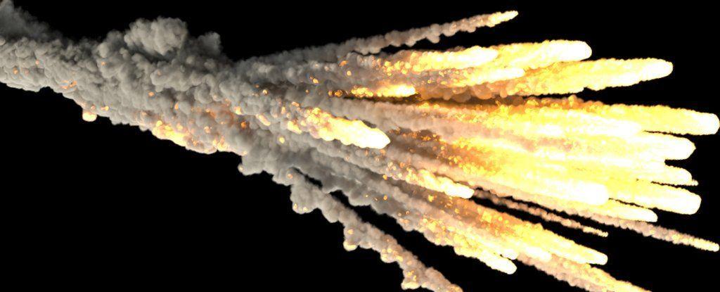 لماذا تنفجر الشهب عند وصولها إلى الغلاف الجوي للأرض؟