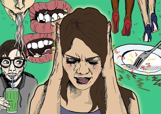 الميزوفونيا أو الميسوفونيا أو متلازمة حساسية الصوت الانتقائية الحساسية ضد بعض الأصوات تصفية الدماغ للأصوات أصوات مزعجة الصوت المزعج