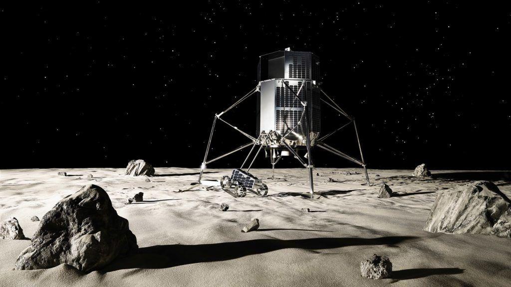 شركة يابانية تقول أنها ستسخدم أحد صواريخ (SpaceX) للهبوط على القمر!