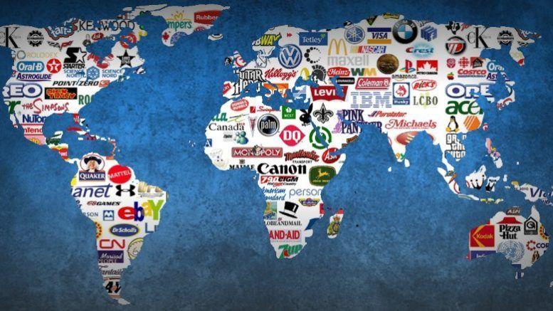 مجموعة صغيرة من الشركات تتحكم في مصير العالم المؤسسات ذات النفوذ الكبير أصبحت تهيمن وتتحكم بشكل رئيسي في الصناعة البشرية الشركات متعددة الجنسيات