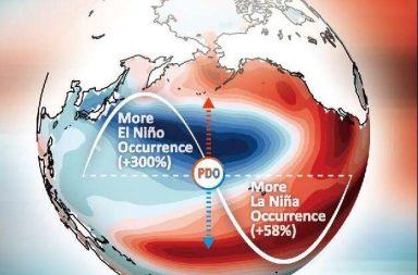 أدلة تثبت تقلب ظاهرة إل نينو بشدة في العصر الصناعي - تفاقم ظواهر مثل العواصف والجفاف وابيضاض المرجان - نمط مناخي جديد غريب