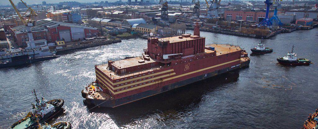 التايتنيك النووية: هذه هي المحطة النووية الروسية العائمة