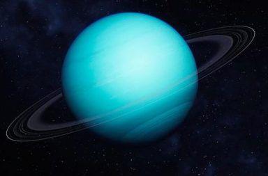 عشر حقائق مثيرة عن كوكب أورانوس سابع كواكب المجموعة الشمسية النظام الشمسي البعد عن الشمس أقمار أورانوس عملاق غازي حلقات أورانوس