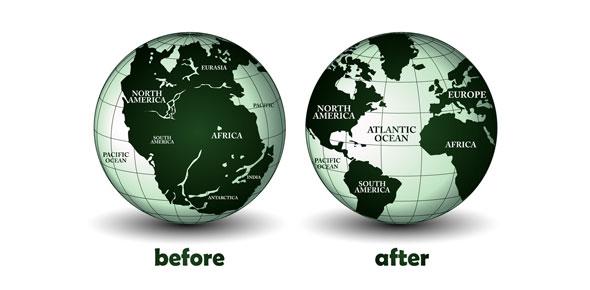نظرية الانجراف القاري: كيف تتجمع القارات وتتفرق؟