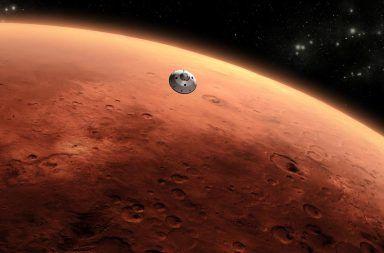 المريخ الكوكب الأحمر الحياة الأرض