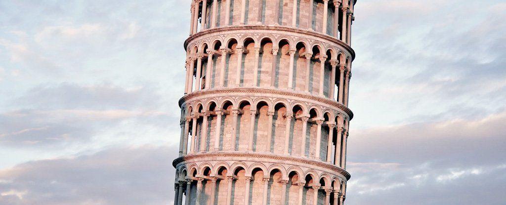 برج بيزا المائل كان ينبغي أن ينهار أثناء زلزال من زمن بعيد، بتنا نعلم الآن كيف نجا