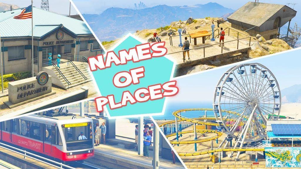 كيف تحصل الأماكن في العوالم الأخرى على أسمائها ؟