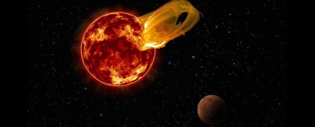 أقرب النجوم إلى مجموعتنا الشمسيَّة عانى من ثورانٍ هائل!