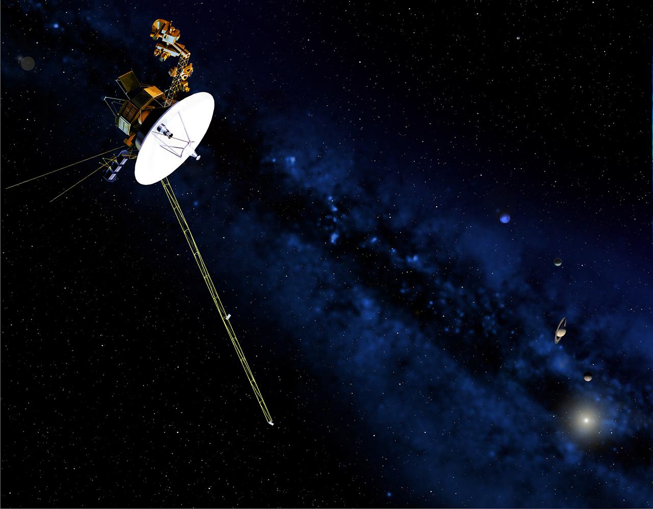 المركبة فويجر 2 تتجاوز معركة ضارية بين الرياح الشمسية والأشعة الكونية