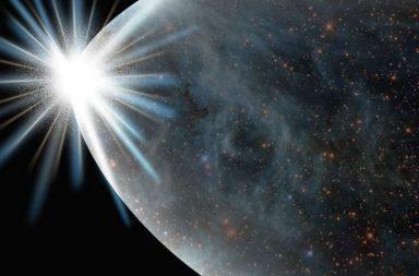 ربما توصل العلماء أخيرًا إلى فهم اللحظة التي سبقت الانفجار العظيم تضخم بسرعة شديدة مثل البالون البروتونات والنيوترونات والإلكترونات