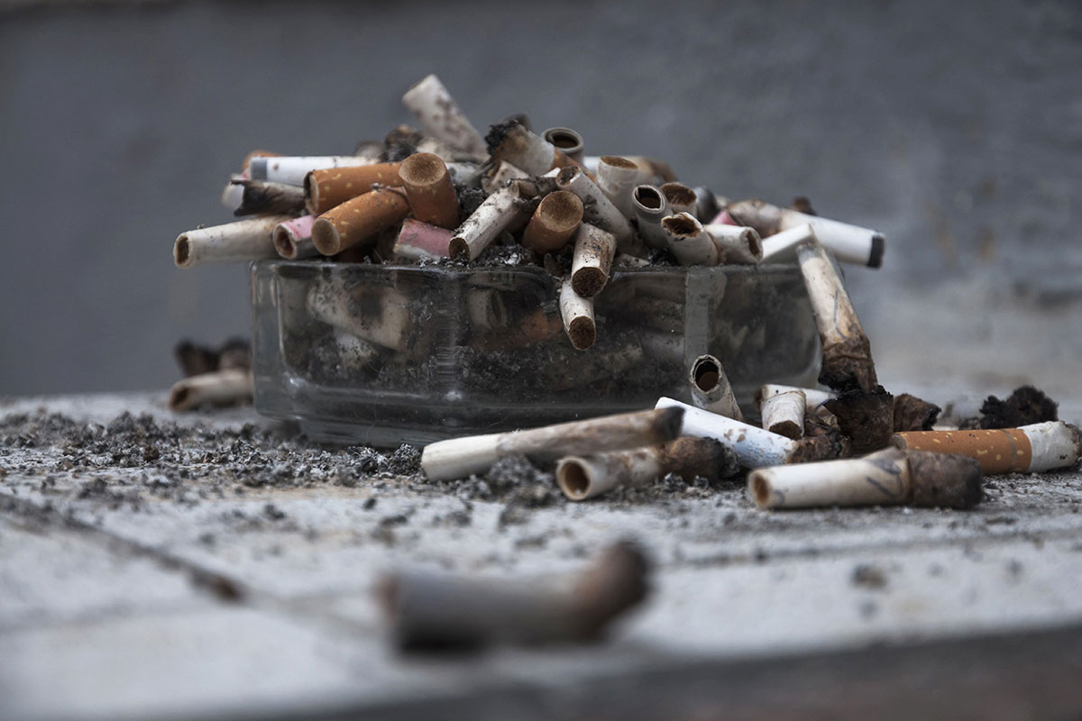 كل خمسين سيجارة تسبب طفرة واحدة في الحمض النووي ل كل خلية رئوية