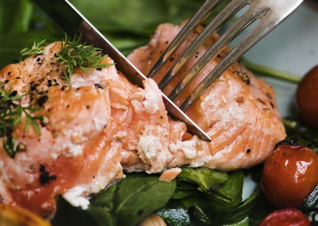 Fish Salmon Tuna Preparation
