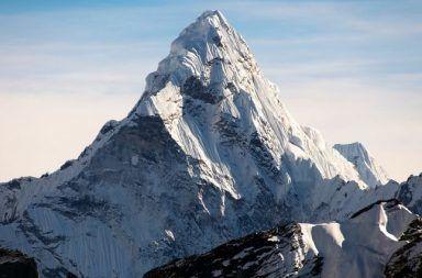 إفرست جبل قمة النيبال