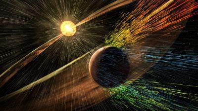 تخليق الحقل المغناطيسي الغريب المتصاعد من الشمس في المختبر