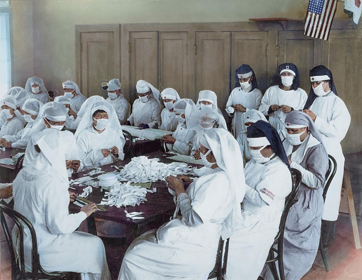 10 معلومات خاطئة عن الإنفلونزا الإسبانية علينا تصحيحها - فيروس الإنفلونزا لذي انتشر خلال فترة الحرب العالمية الأولى - جائحة الإنفلونزا عام 1918