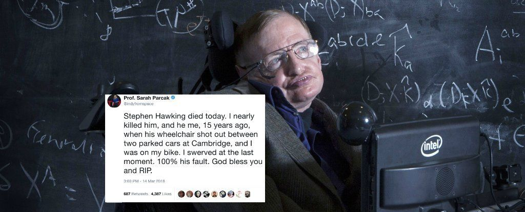 هكذا رثا العلماء ستيفن هوكينج. الكلام مؤثر جدًا