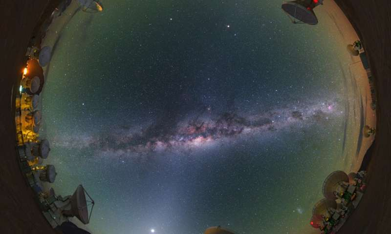 دراسة يمكنها اثبات نظرية تطور المجرات !