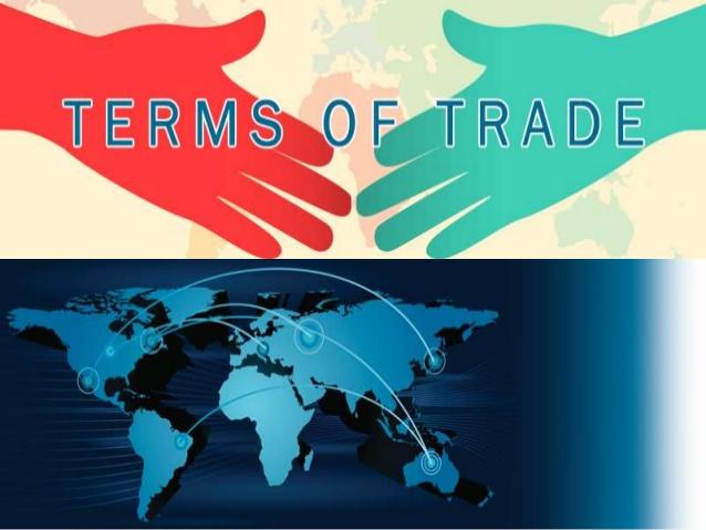 معدل التبادل التجاري - النسبة بين أسعار التصدير وأسعار الاستيراد في بلد ما - العوامل المؤثرة في معدل التبادل التجاري - سعر الصادرات على سعر الواردات