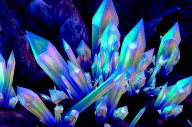 ما هي البلورات المستوى الميكروسكوبي التبلور العلم الذي يدرس البلورة التبلور الصخور الهاليت الياقوت الشفاف والياقوت الأحمر