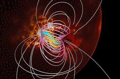رصد نوع جديد من الثوران المغناطيسي على الشمس - حبال من الحقول المغناطيسية - إعادة الاتصال المغناطيسي magnetic reconnection